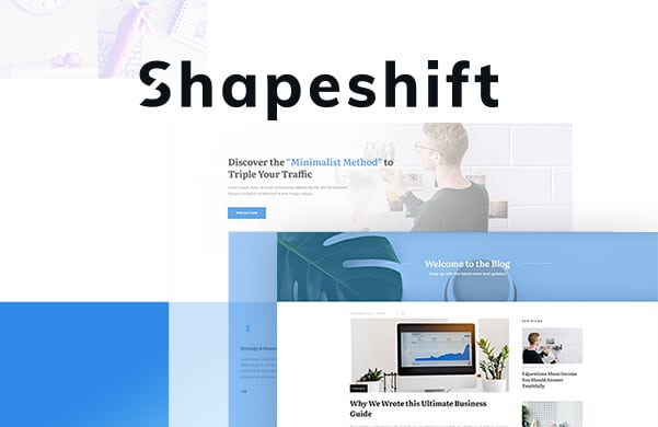 Thrive theme builder Shapeshift