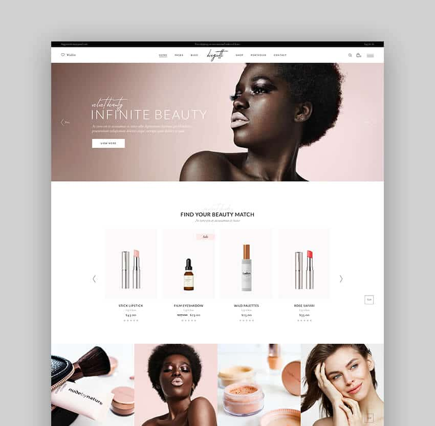 Biagiotti - Thème WooCommerce des meilleurs produits de beauté et cosmétiques