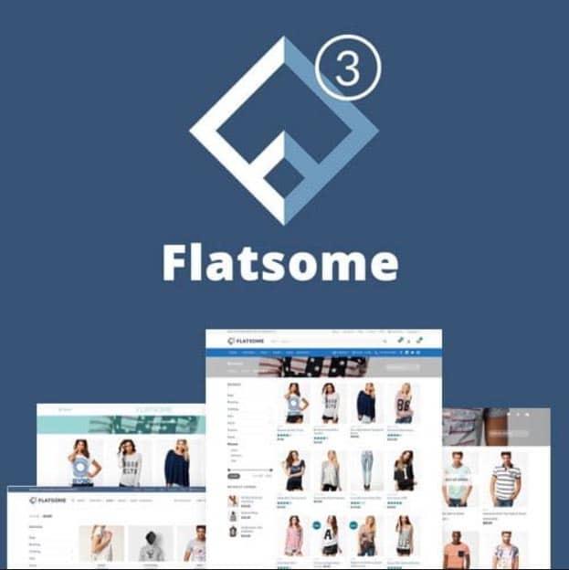 Thème WooCommerce polyvalent et réactif de Flatsome