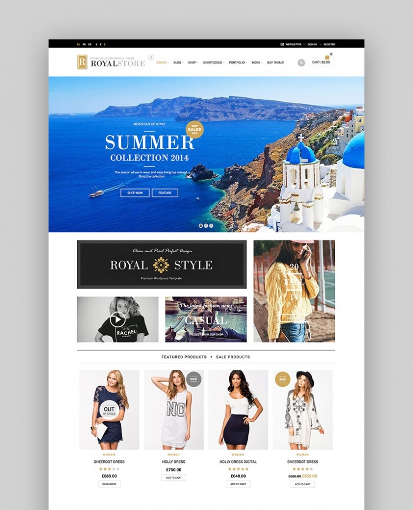 Royal - Thème WordPress Multipurpose