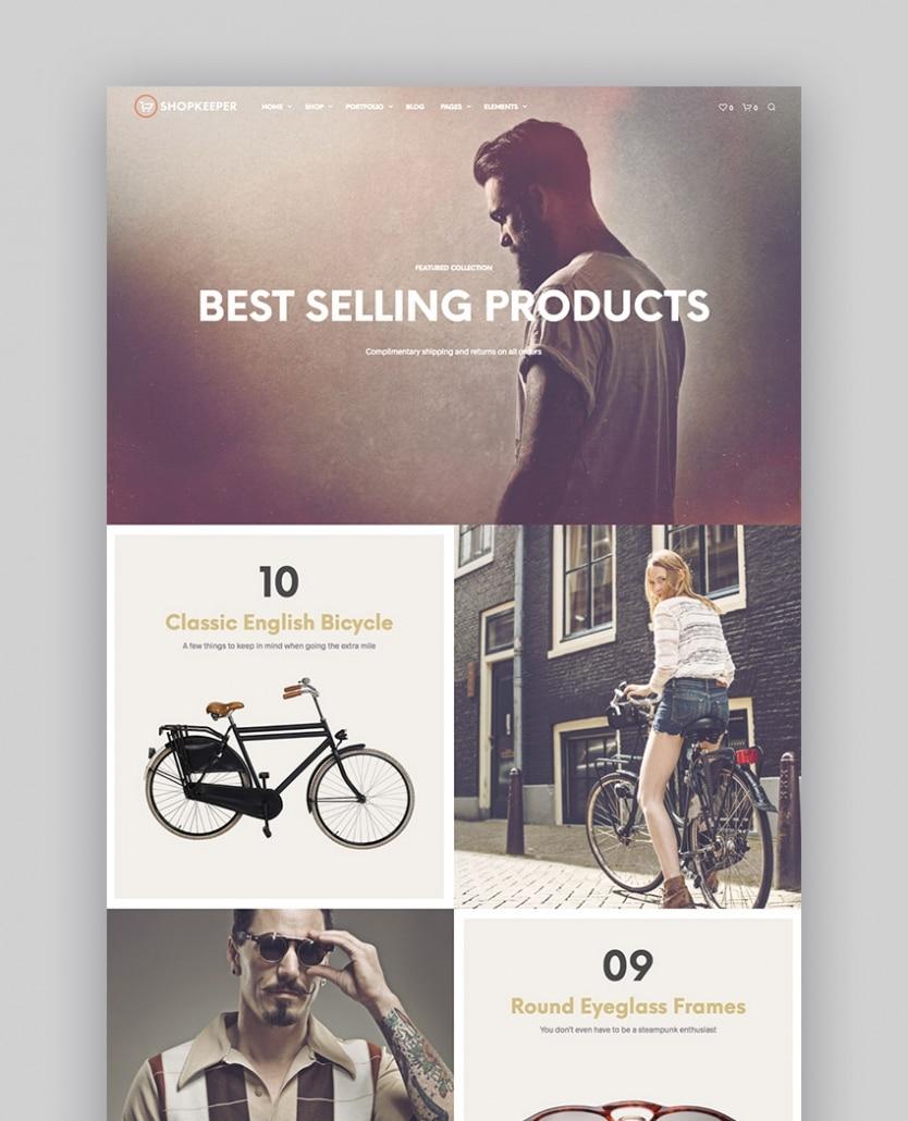 Shopkeeper - eCommerce WP Thème pour WooCommerce