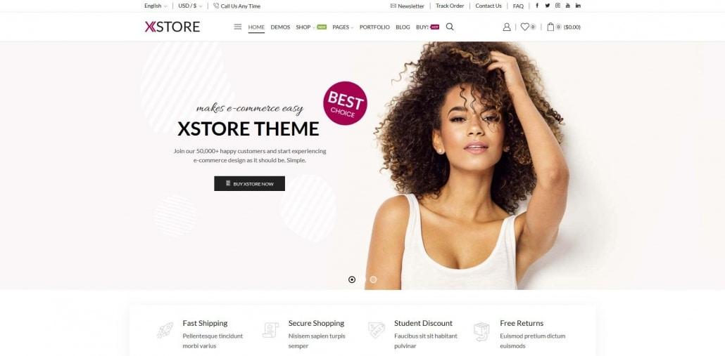 XStore Responsive Multi-Purpose WooCommerce WordPress Theme