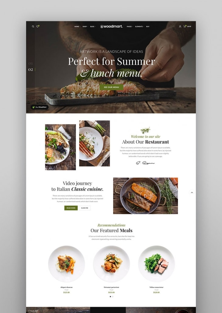 WoodMart - Thème WordPress de WooCommerce