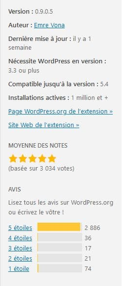 wp fastest cache - repertoire wordpress