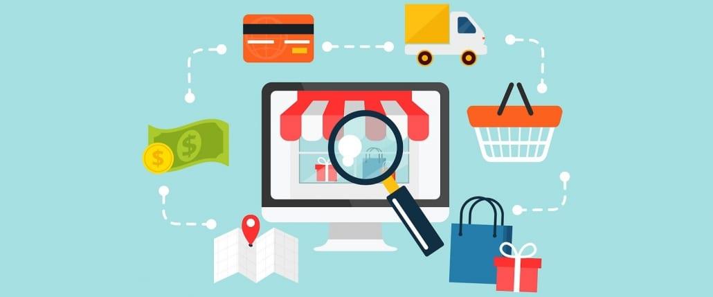 e.commerce selon le modèle commercial