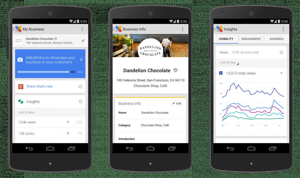 Optimisation - Google My Business - SEO